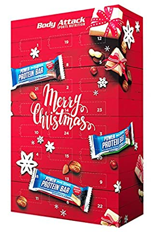 Body Attack Power Protein Bar Adventskalender 2017