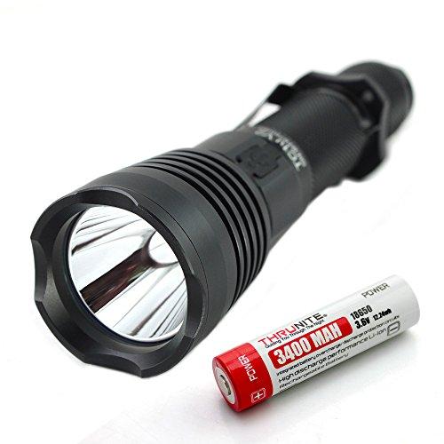 ThruNite® TC10 V2 900 Lumen Die wiederaufladbare LED Taschenlampe mit USB Interface,die Taschenlampe mit integriertem Ladegeraet! (TC10 V2 NW)