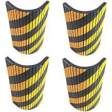 FSWP4425BYx4 Protección garaje adaptable, tiras de espuma adhesivas con cortes en su cara vista para