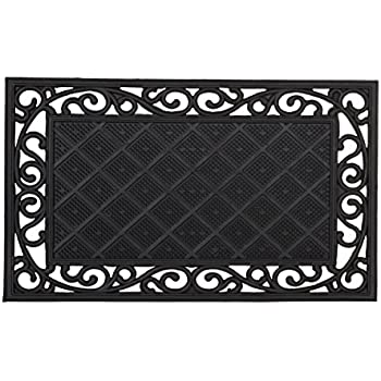 relaxdays paillasson fibres de coco tapis de sol rectangle. Black Bedroom Furniture Sets. Home Design Ideas