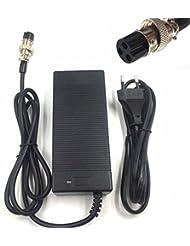 2A 29.4V cargador para 24V 25.2V 25.9V 29.4V 7S paquete de batería de litio 29.4V recarger e-bike charger (Conector en línea de 3 clavijas)