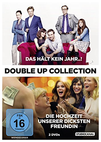 Bild von Double Up Collection: Das hält kein Jahr / Die Hochzeit unserer dicksten Freundin [2 DVDs]