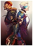 Instabuy Poster Faucheur & Soldat 76 Overwatch (B) - A3 (42x30 cm)
