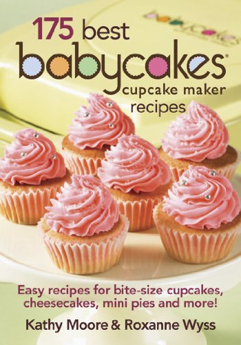 Babycakes Cupcake Cookbook - 175 Best Cupcake Maker Recipes