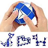 Bihood Twist Puzzle Toy Gift ADHD Toys for Kids ADHD Fidget Toys Twist Toy Fidget Toys for Kids 3D Puzzles for Kids 3D Puzzle Magic Snake Shape Toy Game 3D Cube Puzzle Color Shipped at Ramdom
