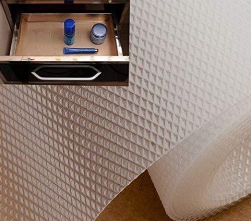 Shuangyou EVA Textured Anti-slip Mat, 45x150cm (White)