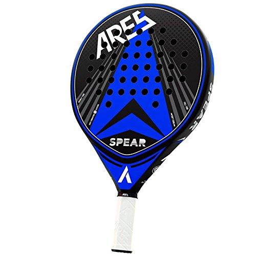 Vibor-A Padel Ares Spear Pala, Unisex Adulto, Azul, Talla Única