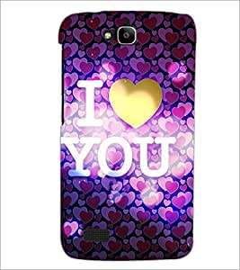 PrintDhaba Quote D-5974 Back Case Cover for HUAWEI HONOR HOLLY (Multi-Coloured)