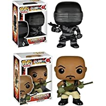 Funko POP! G.I. Joe: Snake Eyes & Roadblock - Stylized Vinyl Figure Set NEW