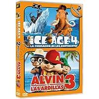 Pack: Ice Age 4 + Alvin Y Las Ardillas 3