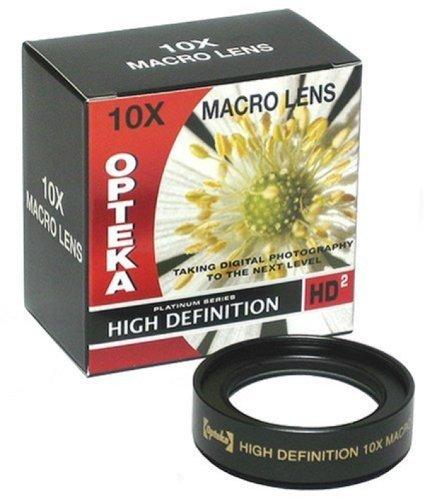 Opteka Professionelles Makroobjektiv für Digitalkameras, 62 mm, 10 Stück