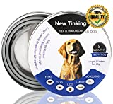 CRAZYBOY®Flea and Tick Prevention For Dogs, Flea Collar For Dogs, Adjustable & Waterproof
