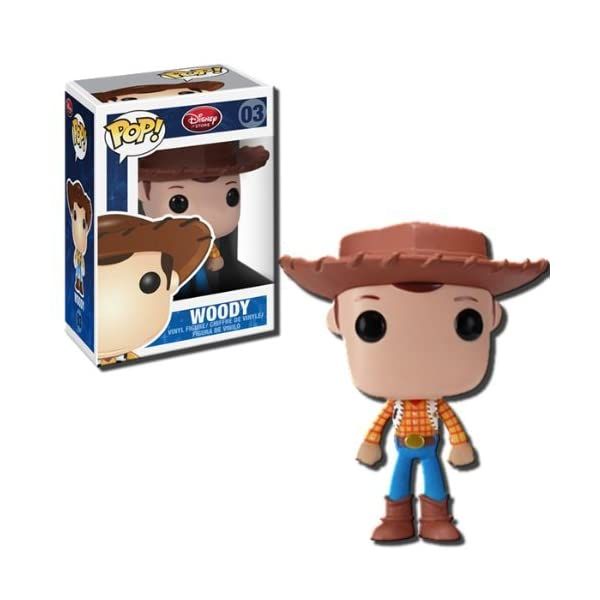 Funko Pop Woody (Toy Story – Disney 03) Funko Pop Disney