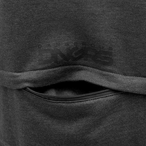 Dangerous DNGRS Uomo Maglieria / Hoodies con zip DGZH044 Grigio