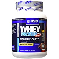 USN 100% Whey Protein Premium Muscle Development and Recovery Shake Powder - Chocolate, 908 g