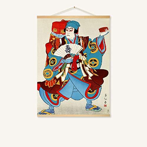 Salon rétro cadre photo tapisserie de chevet canapés peintures