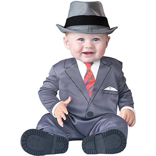 Deluxe Baby Kleinkind Banker Business Mann Anzug Fancy Kleid Kostüm