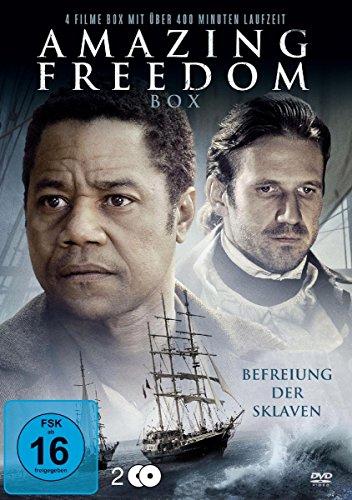 Preisvergleich Produktbild Amazing Freedom - Befreiung der Sklaven - Box [2 DVDs]