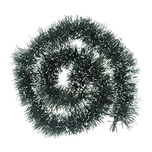 LLAAIT 2 Mt Weihnachtsbaum Draht Girlande Lametta Hängen Rattan Weihnachtsbaum Ornament Dekoration Weihnachten Hochzeit Geburtstag Party 5 Farben 924, B, Vereinigten Staaten