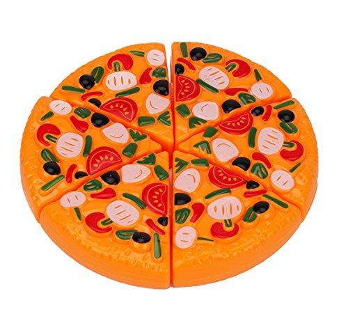 Anastoy Kinder Pizza Spielzeug mit Klettverschluss