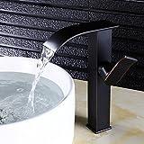 Daadi Küche bad waschbecken wasserhahn Europäische Kupfer Wasserhahn bad Waschbecken mit warmen und kalten Wasserfall Einloch schwarze Patina verschärfen.