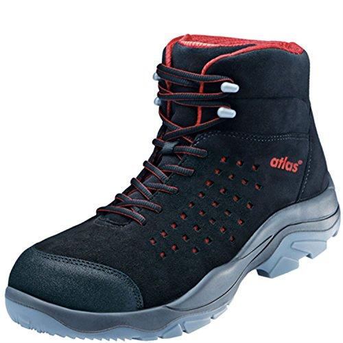 ESD Chaussures de sécurité SL 32Large Red dans 10après en ISO 20345S1SRC de Atlas Schwarz