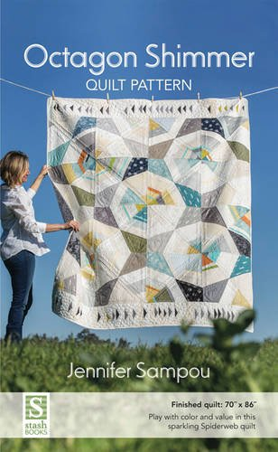 Octagon Shimmer Quilt Pattern Cover Image