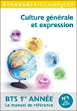 Culture générale et expression BTS 1re année