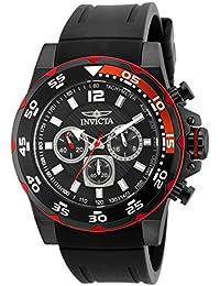 c5d17c6a6367 Invicta 20030 Pro Diver Reloj para Hombre acero inoxidable Cuarzo Esfera  negro