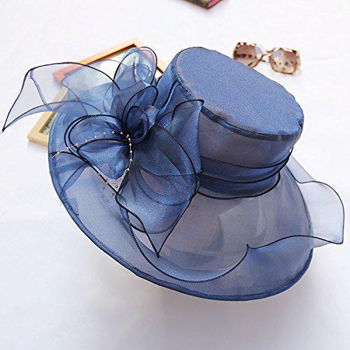 upper-neues-mesh-visor-retro-double-organza-falten-entlang-der-hut-dame-56-58-cm-dunkelblau