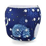 Storeofbaby Pañales de tela reutilizables para bebé Pañales lavables de natación 0-3 años