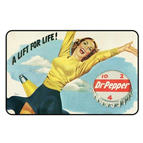 cadora-targa-magnetica-calamita-frigo-vintage-retro-pubblicita-dr-pepper-a-lift-for-life-donna-sexy