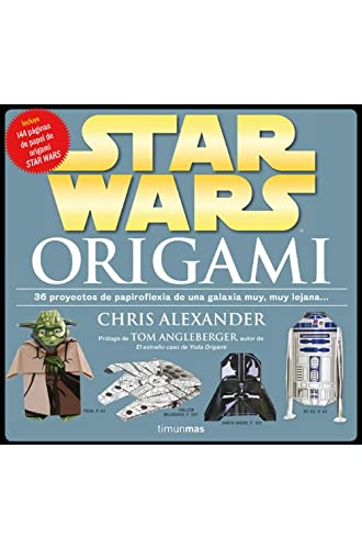 STAR WARS: Origami: 36 proyectos de papiroflexia de una galaxia muy lejana…