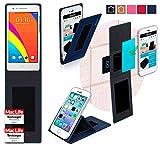 reboon Hülle für Oppo Mirror 3 Tasche Cover Case Bumper | Blau | Testsieger
