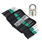 Asuman - Kit de entrenamiento con cerradura (32 piezas, con bolsa de...