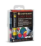 Chameleon Art Products CT4502 5 Color Tops-Accessoires Chameleon pour des dégradés de Couleurs Tons Primaires