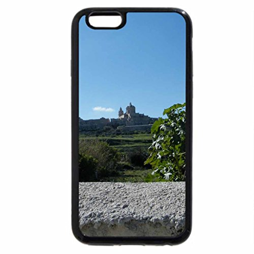 iPhone 6S / iPhone 6 Case (Black) Malta Mdina