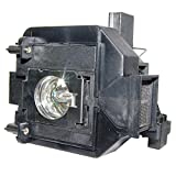 Lampe SUPER ELPLP67 pour vidéoprojecteur EPSON:EB-X11, MG-850HD , EH-TW480, EB-915, EB-SXW11, EB-SXW12, EB-X12, EB-X14, EB-S11, EB-W12, EB-S02, EB-X02