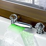 YYF LED-Waschtischbatterie für Waschtischmontage