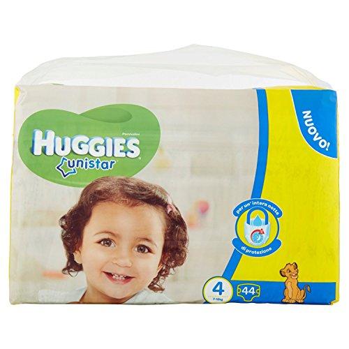 Huggies-Unistar-Windeln, Größe 4(7-14kg)-2x 22Windeln