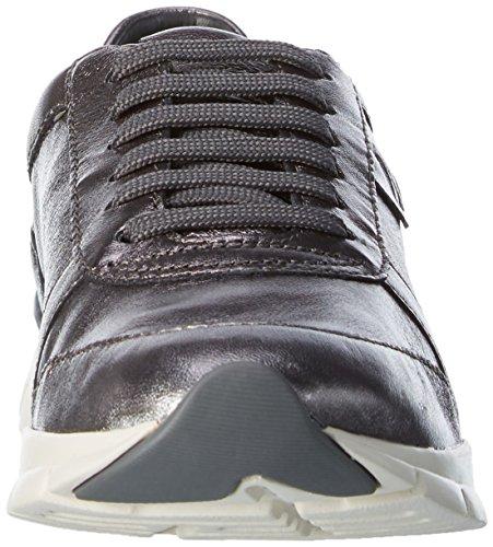 Geox Damen D Sukie A Sneaker Grau (Gunc1357)