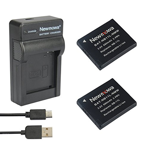 newmowa-ersatz-akku-nb-11l-2er-pack-und-tragbar-micro-usb-ladegerat-kit-fur-canon-powershot-a2300-is
