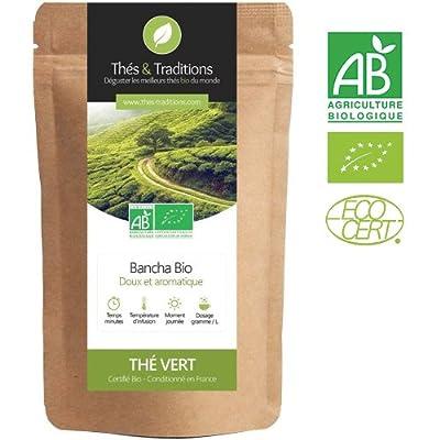 Bancha BIO - Thé vert | Sachet 100g vrac | ? Certifié Agriculture biologique