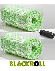 Set 2x BLACKROLL (soft) weiß/grün & BLACKROLL mini