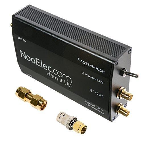 Ham It Up Plus HF/MF/LF/VLF/ULF Upconverter mit TCXO und separatem Noise Source Circuit. Vollständig zusammengebaut in benutzerdefiniertem Metallgehäuse. Erweitert den Frequenzbereich Ihres Liebling Smart-draht Com