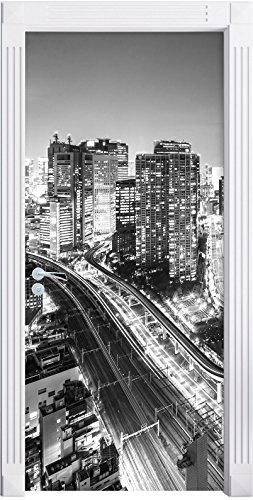 larchitecture-moderne-au-centre-ville-de-tokyo-art-b-w-comme-mural-format-200x90cm-cadre-de-porte-po