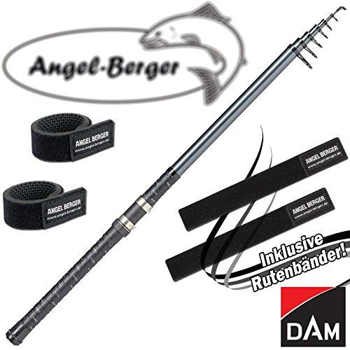 DAM Camaro Tele Stellfisch 50-100g mit Angel Berger Rutenband (6,00m / 50-100g)