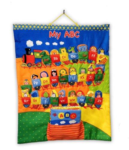 edu-petit My Finger Puppet ABC Diagramm mit weiches Buch Spielzeug