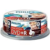Philips DVD+R DR4I6B25F/00 - DVD+RW vírgenes (4,7 GB, 120 min, DVD+R)