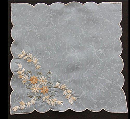 uropäische eis bestickt serviette pads taschentücher plain hotel hotel bankett - hochzeit 29 * 29cm (Bestickte Servietten)